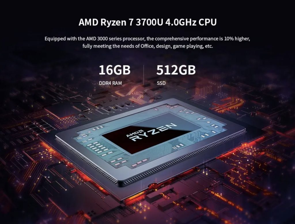 16 GB RAM + 512 GB