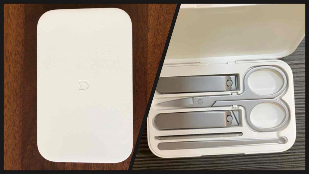 Xiaomi Mijia sada na manikúru a pedikúru