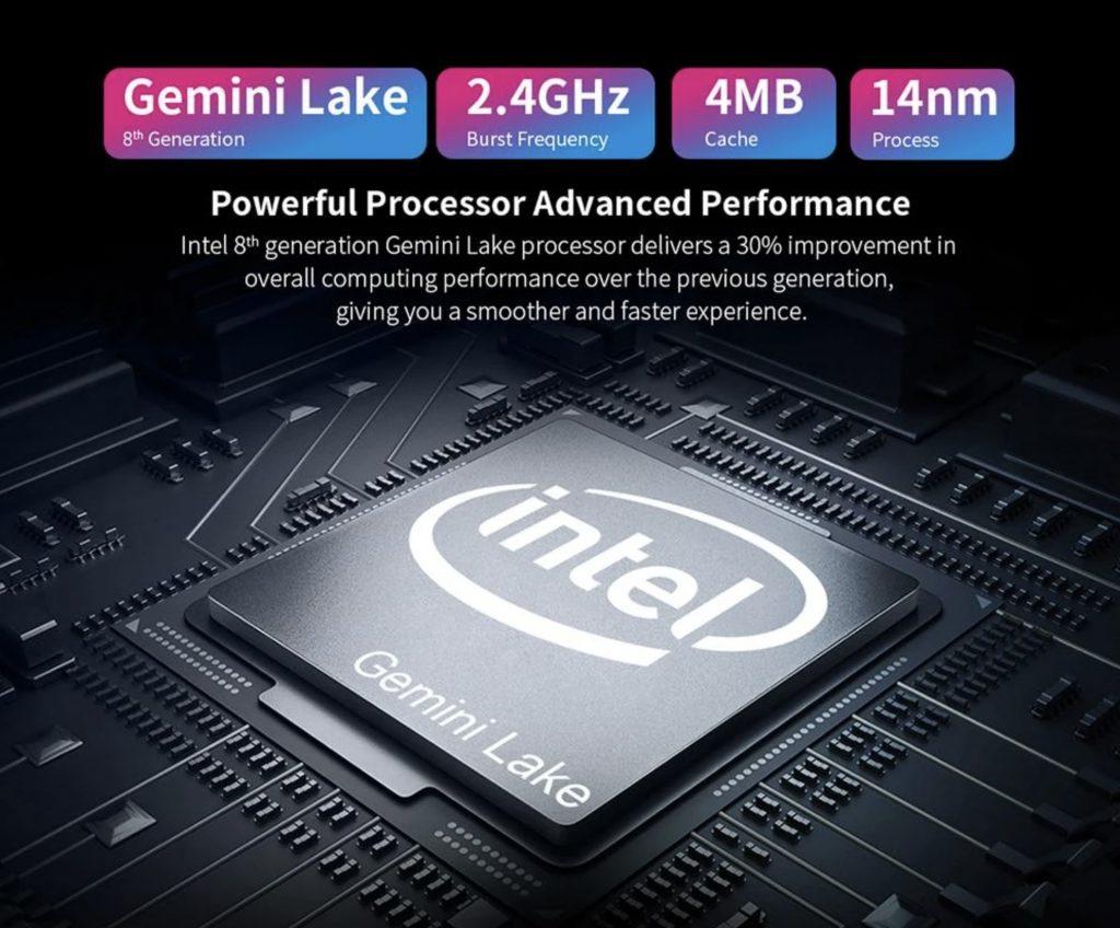 Teclast F15 procesor Intel Celeron