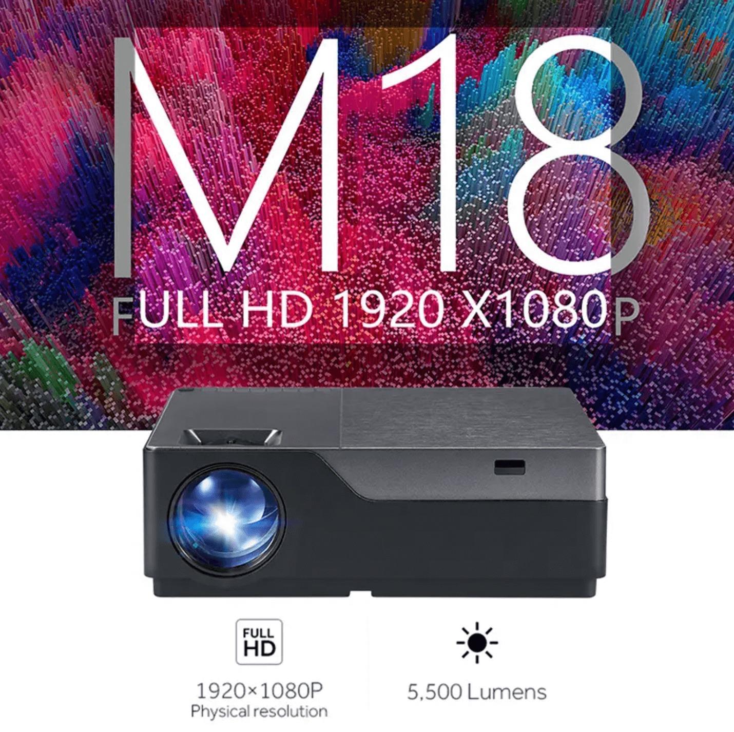 AUN M18 projektor