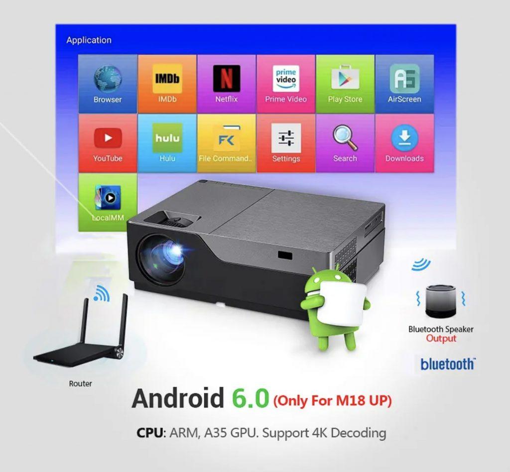 AUN M18 je dostupný aj s OS Android