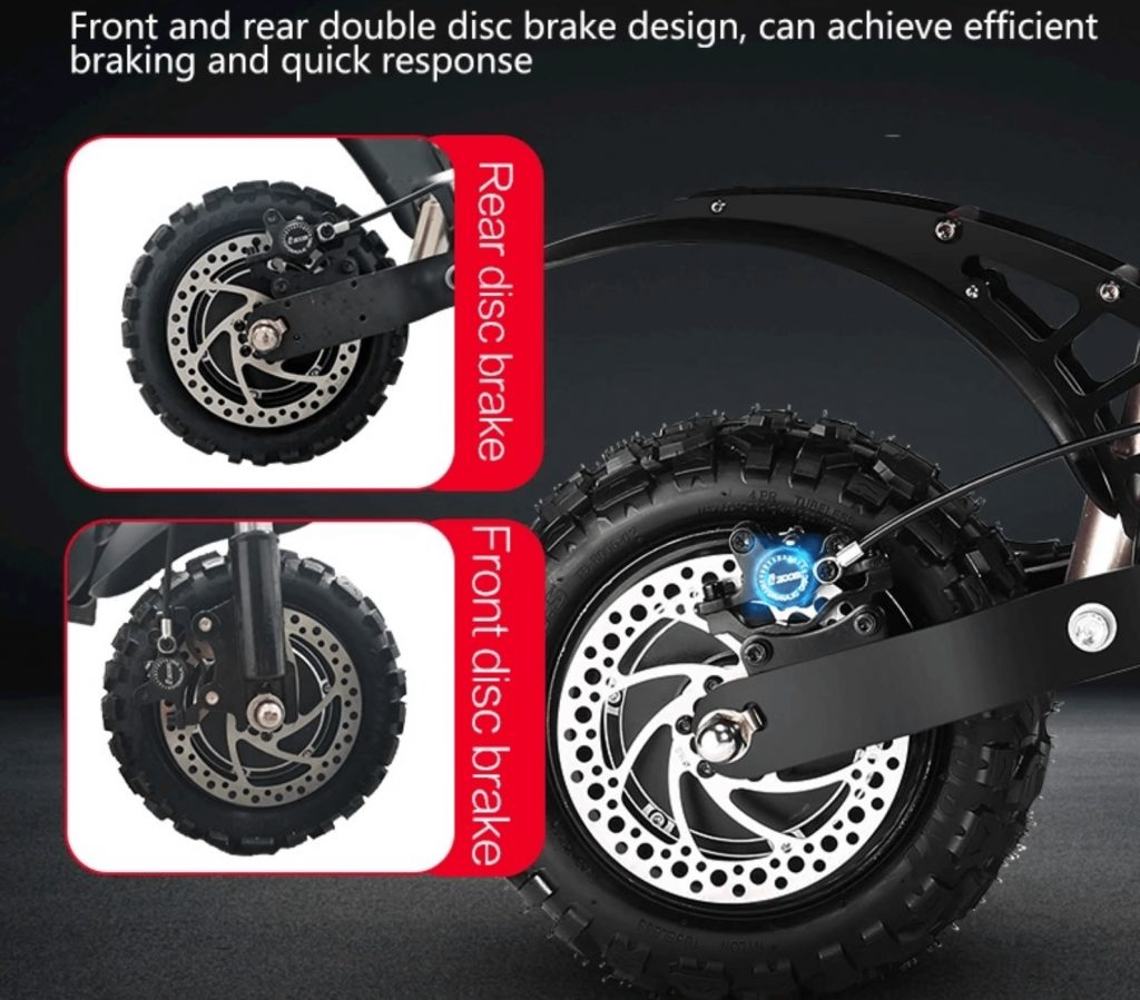 Hydraulické brzdy + EABS