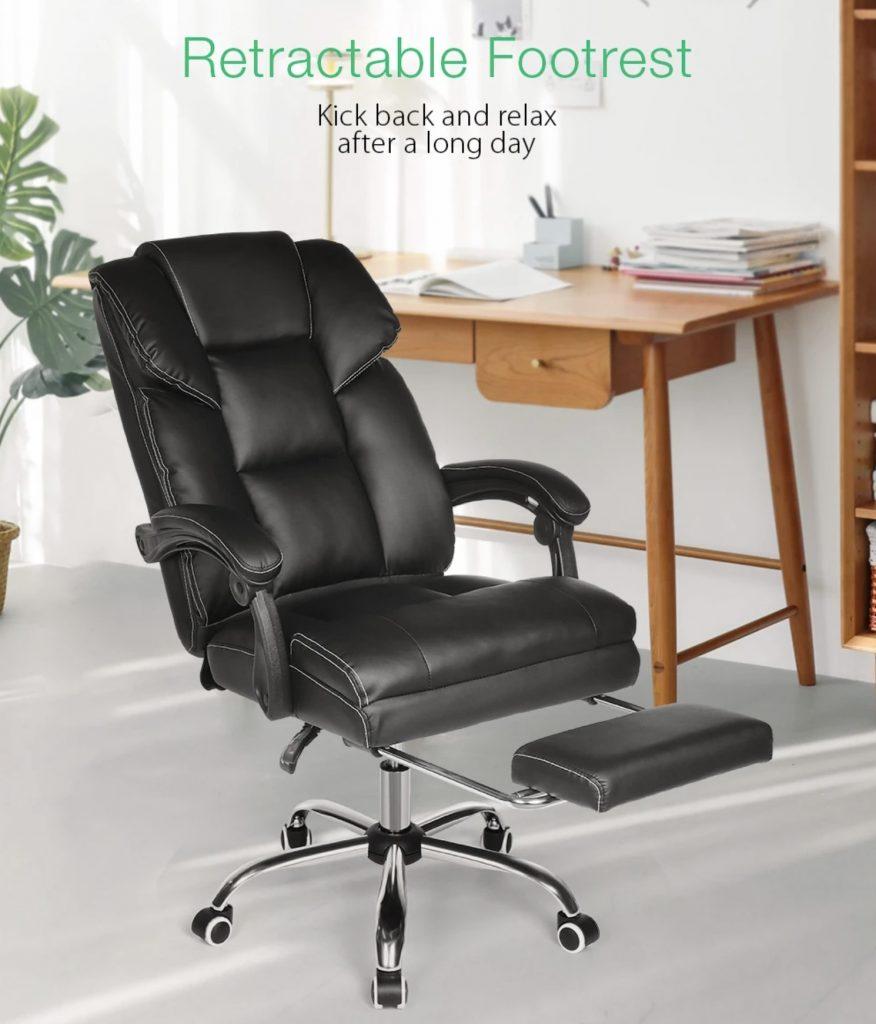 Kancelárska stolička Blitzwolf OC1 ti ponukne aj mimoriadné pohodlie