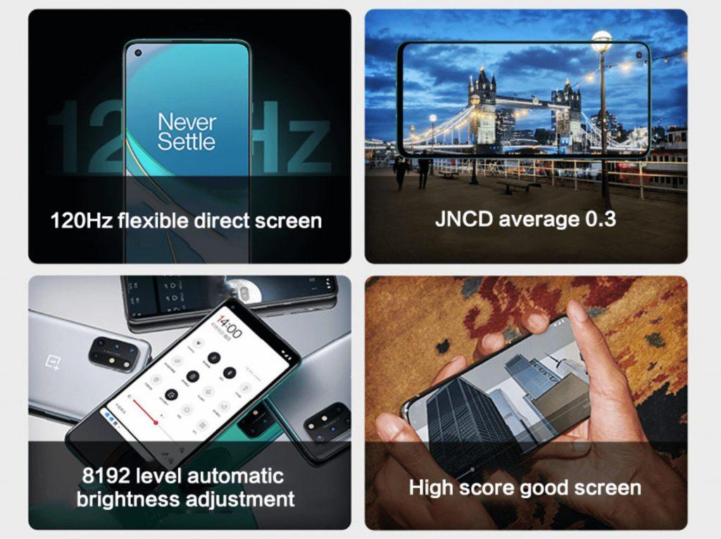 OnePlus 8T je zameraný na displej