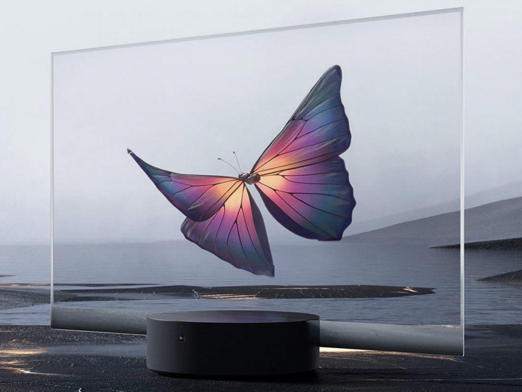 transparentná TV Xiaomi Mi TV Lux