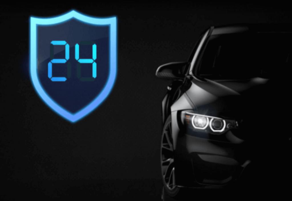 24-hodinové možnosti monitorovania parkovania.