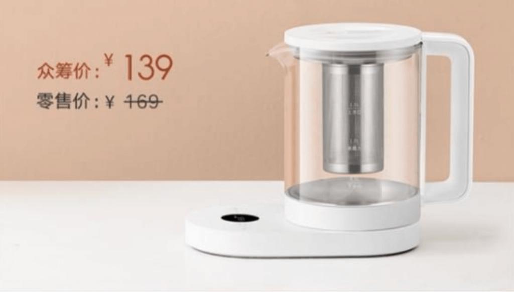kanvica na čaj od Xiaomi