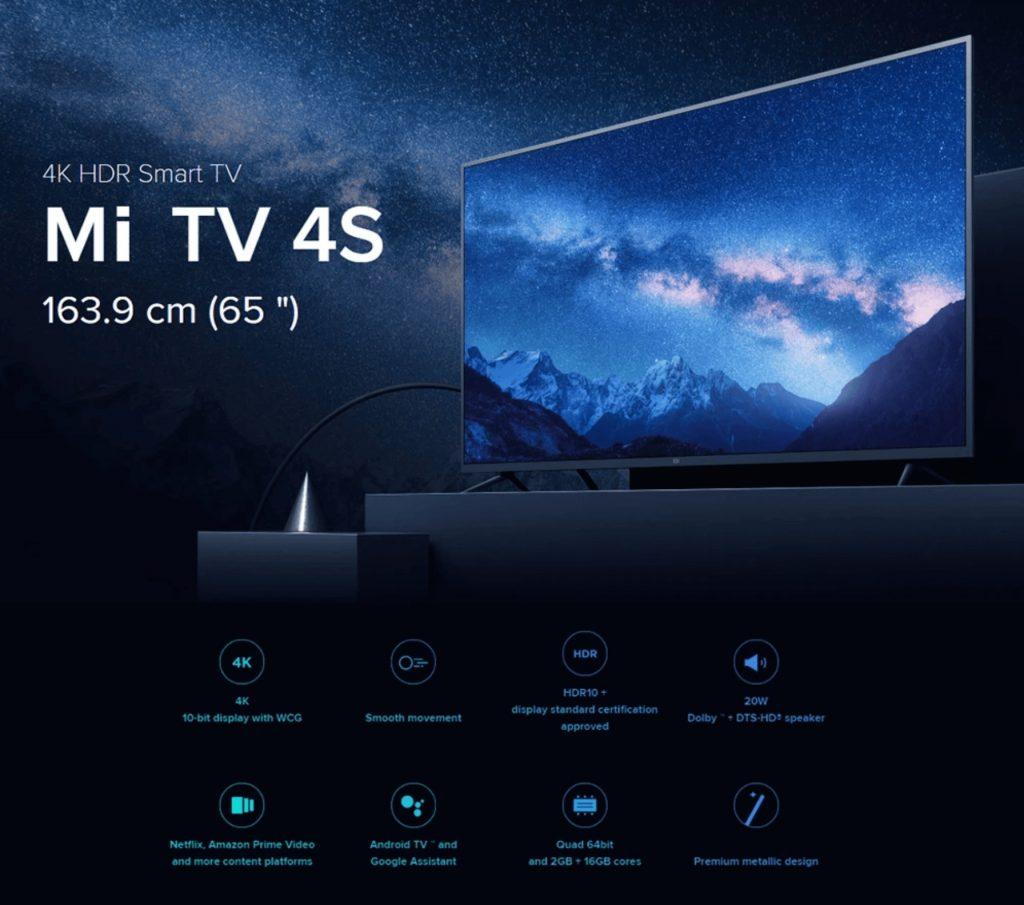 "65"" Xiaomi SAMRT TV"
