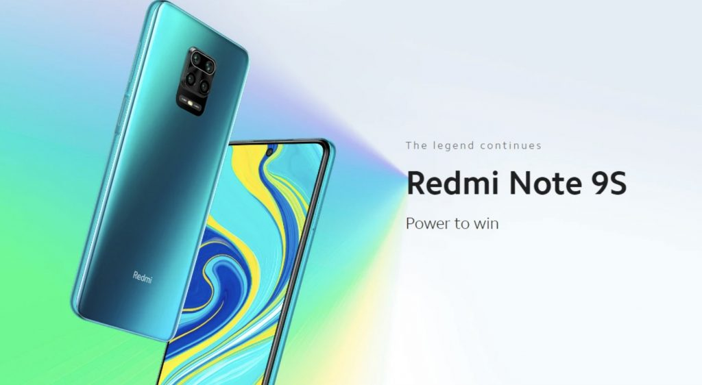 Xiaomi Redmi 9S 64GB len za 152 EUR